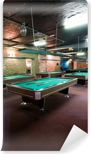 Billiard room Vinyl Wall Mural