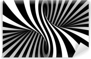 Black and white abstract Vinyl Wall Mural