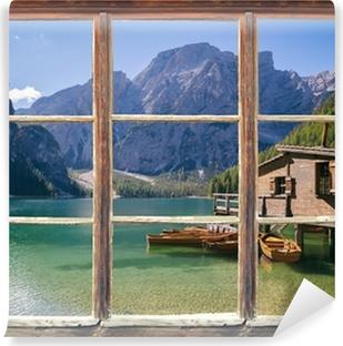 Blick aus dem Fenster Vinyl Wall Mural