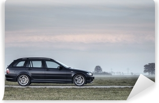 BMW e46 330d Touring M-Paket Vinyl Wall Mural