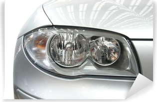 bmw headlight Vinyl Wall Mural