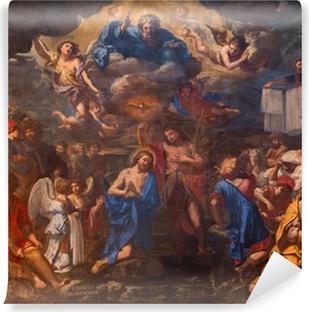 Bologna - The Baptism of Christ in church San Girolamo Vinyl Wall Mural