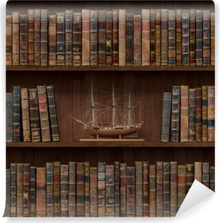Books seamless texture. tiled with other textures in my gallery Vinyl Wall Mural