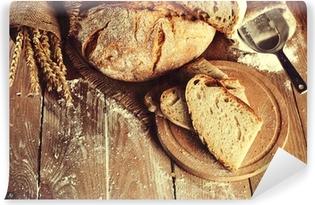 bread Vinyl Wall Mural