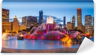Buckingham fountain Vinyl Wall Mural