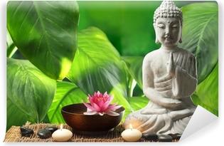 Buddha in meditation Vinyl Wall Mural