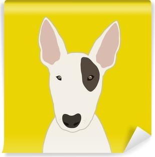Bull Terrier Vinyl Wall Mural