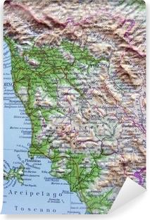 Cartina Geografica Immagini Della Toscana.Carta Geografica Della Toscana Wall Mural Pixers We Live To Change