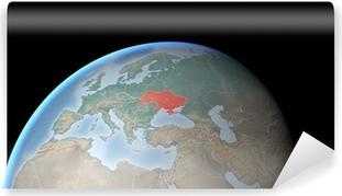 Cartina Europa Crimea.Cartina Europa Asia Medio Oriente Crimea E Ucraina Poster