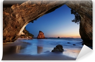 Cathedral Cove, New Zealand Vinyl Wall Mural