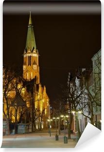 Church in Sopot, Poland. Vinyl Wall Mural