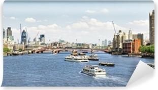 City Of London View From Waterloo Bridge Canvas Print