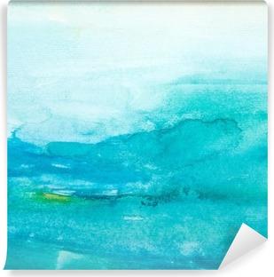 color strokes watercolor painting art Vinyl Wall Mural