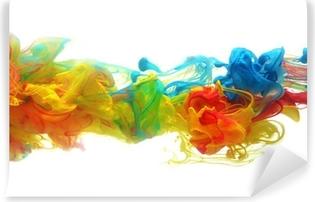 Colorful ink in water Vinyl Wall Mural