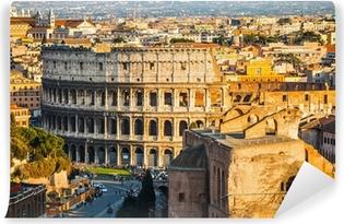 Colosseum at sunset Vinyl Wall Mural