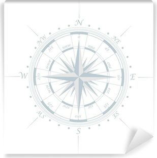 Compass rose Vinyl Wall Mural