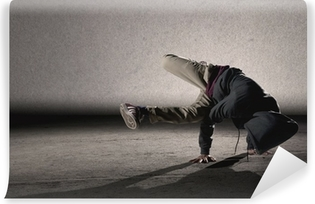 Cool breakdancing style Vinyl Wall Mural
