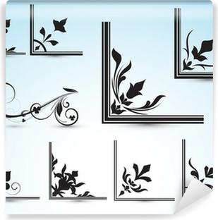 Corner Vector Designs Wall Mural • Pixers® • We live to change