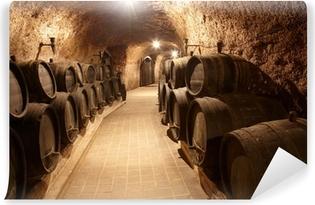 Corridor in winery Vinyl Wall Mural