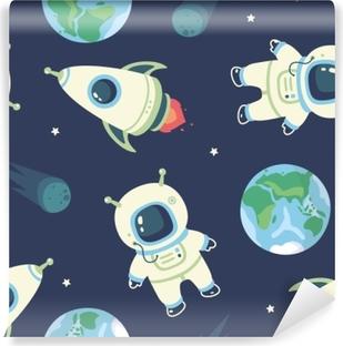 cosmonaut Vinyl Wall Mural