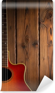 country and western guitar Vinyl Wall Mural