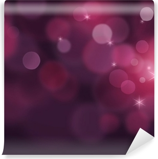 Crystal purple glitter background Vinyl Wall Mural
