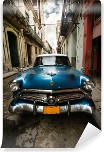 Cuba Vintage Vinyl Wall Mural