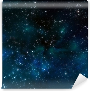 deep outer space or starry night sky Vinyl Wall Mural