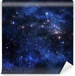 Deep space nebulae Vinyl Wall Mural