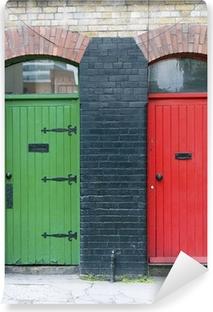 Exterior doors, Ireland Vinyl Wall Mural