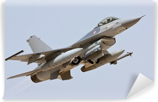 F-16 - Take Off Vinyl Wall Mural