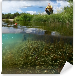 Fishing Wall Mural Pixers We live to change