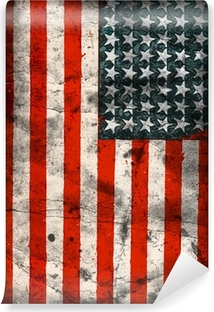 Flag of the USA (United States of America) Vinyl Wall Mural