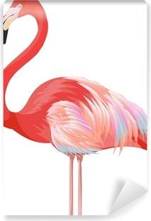 flamingo Vinyl Wall Mural