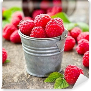 Fresh raspberry Vinyl Wall Mural