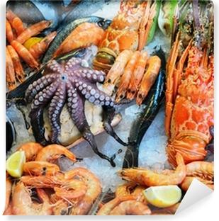Fresh seafood Vinyl Wall Mural
