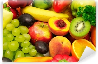 fruits and vegetables Vinyl Wall Mural