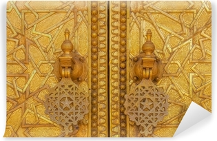 Gate to the palace of the king of Morocco Vinyl Wall Mural