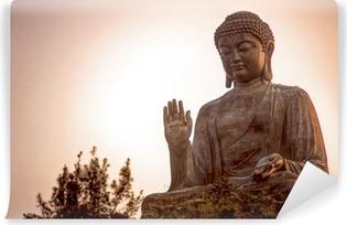 Giant Buddha Vinyl Wall Mural