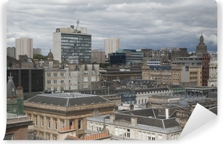 Glasgow Cityscape Vinyl Wall Mural