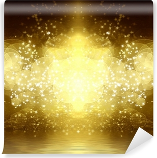 gold glitter Vinyl Wall Mural