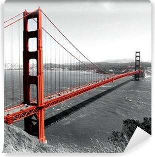 Golden Gate Bridge Vinyl Wall Mural