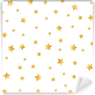 golden stars Vinyl Wall Mural
