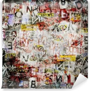 Grunge textured background Vinyl Wall Mural