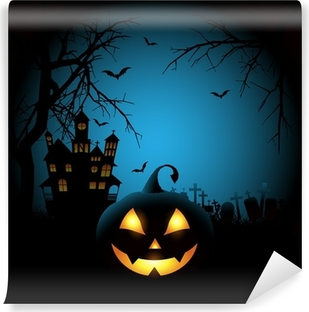 spooky halloween background wall mural pixers we live to change