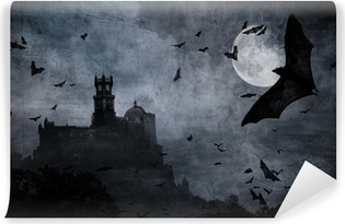 halloween background Vinyl Wall Mural