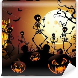 Halloween Stickers Symbols Cartoon Simboli Halloween Adesivi Wall