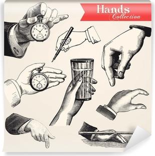 Hands Collection Vinyl Wall Mural
