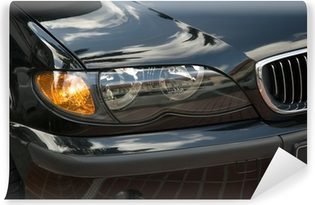 head lights of a car Vinyl Wall Mural