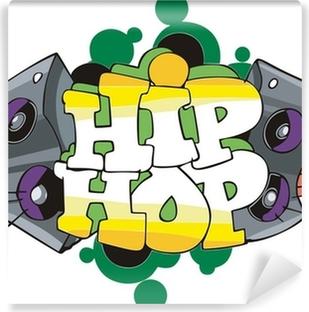 Hip Hop Graffiti Design Sticker Pixers We Live To Change